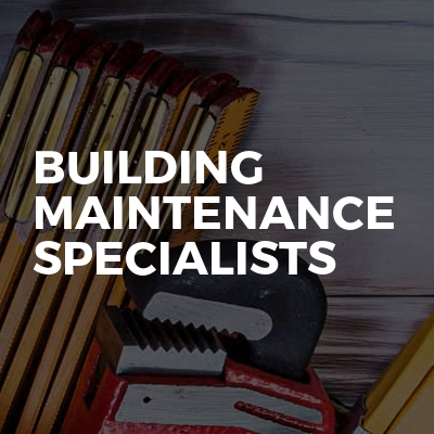 Building Maintenance Specialists