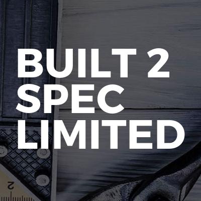 BUILT 2 SPEC LIMITED