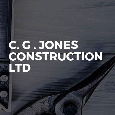 C. G . Jones Construction Ltd