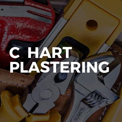 C  Hart plastering