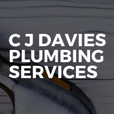 C J DAVIES PLUMBING SERVICES