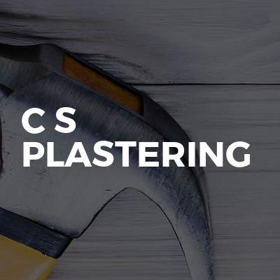 C S Plastering