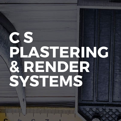 C S plastering & render systems