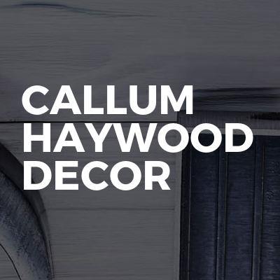 Callum Haywood Decor