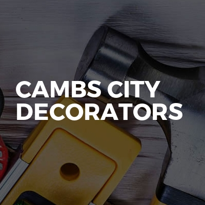Cambs City Decorators