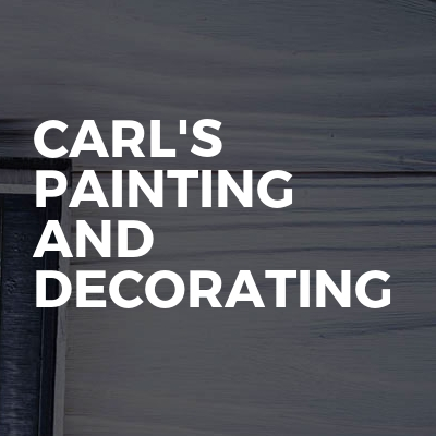 Carl's painting and decorating