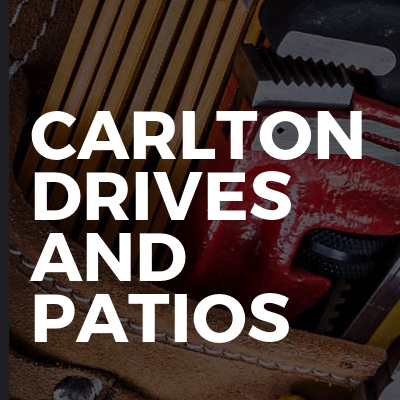 Carlton drives and patios