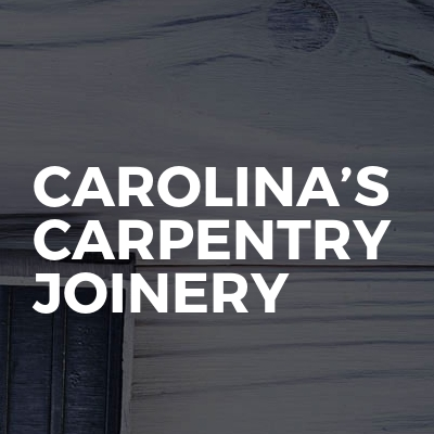 Carolina's carpentry joinery