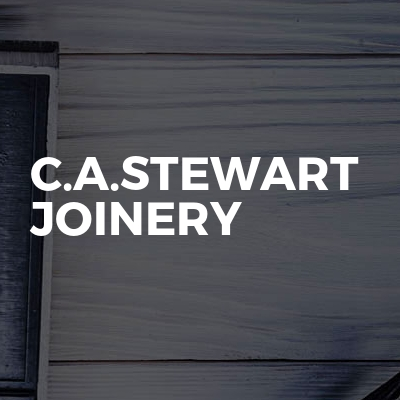 C.A.Stewart joinery