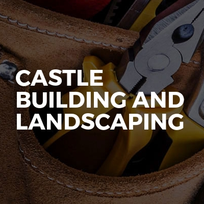 Castle building and landscaping