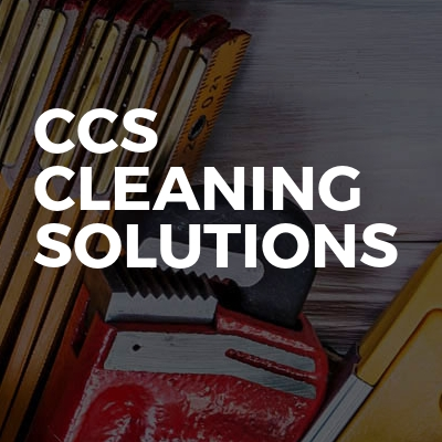 Ccs cleaning solutions