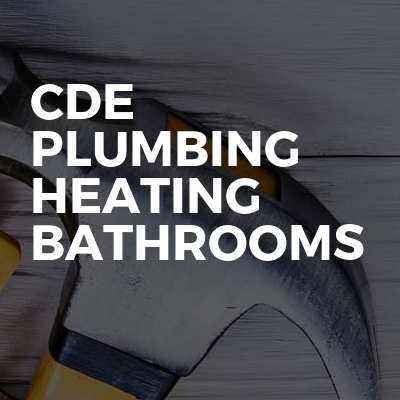 CDE plumbing heating bathrooms