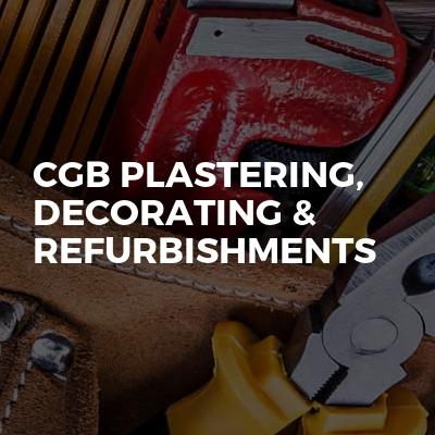 CGB Plastering, Decorating & Refurbishments