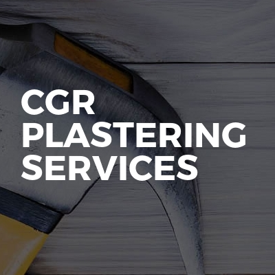 CGR PLASTERING SERVICES