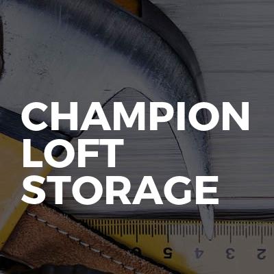 Champion Loft Storage