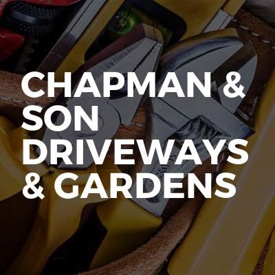 Chapman & son driveways & gardens