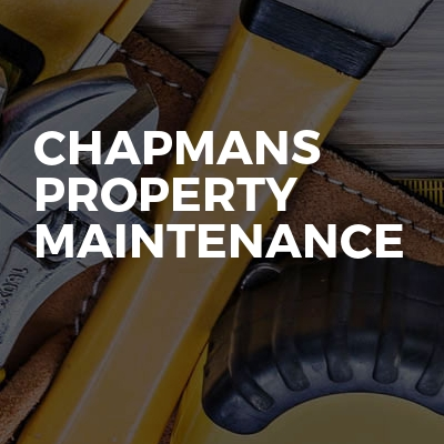 Chapmans property maintenance