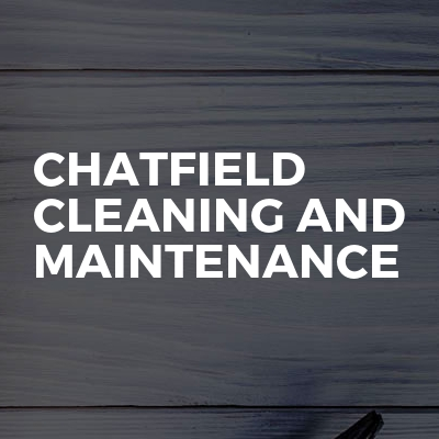 Chatfield Cleaning And Maintenance