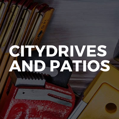 Citydrives and patios