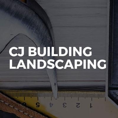 Cj building landscaping