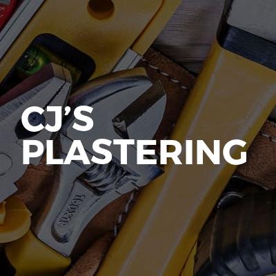 Cj's Plastering