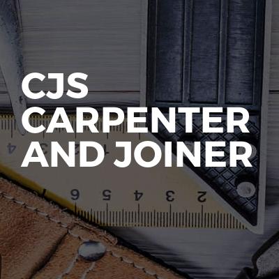 Cjs Carpenter And Joiner