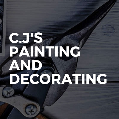 C.J's Painting And decorating