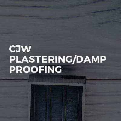 Cjw Plastering/damp Proofing