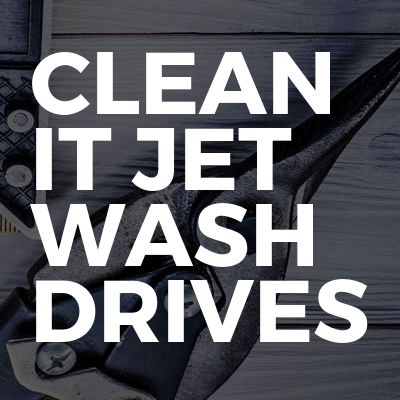 CLEAN IT JET WASH DRIVES