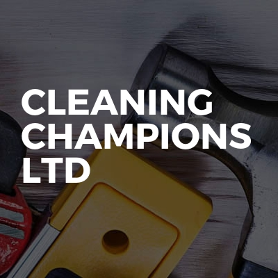 Cleaning Champions Ltd