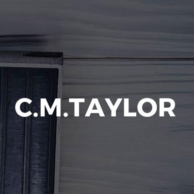 C.M.TAYLOR