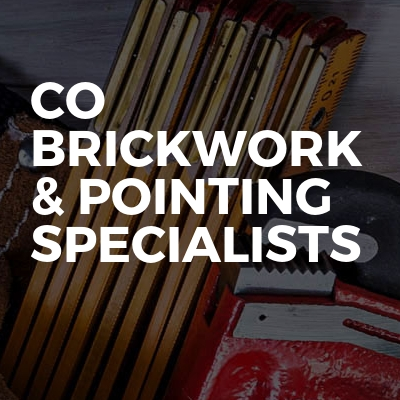 Co brickwork & pointing specialists