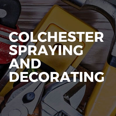 Colchester Spraying And Decorating