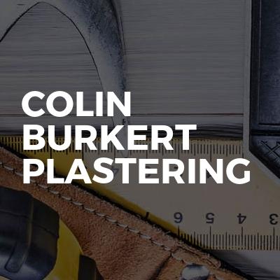 Colin burkert plastering