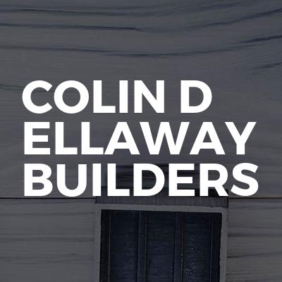 Colin d Ellaway builders