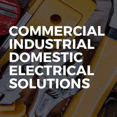 Commercial industrial domestic electrical solutions