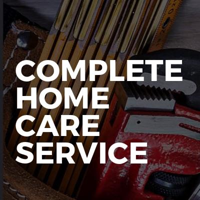 Complete Home Care Service