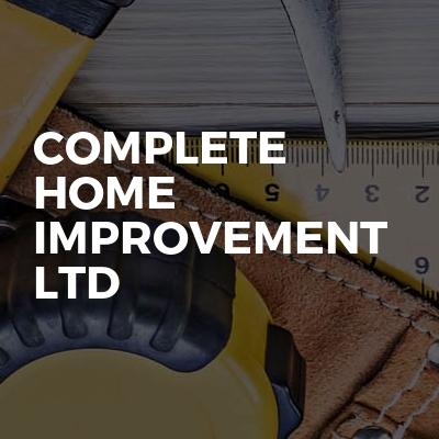 Complete home improvement ltd