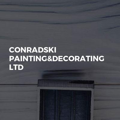 Conradski Painting&Decorating Ltd