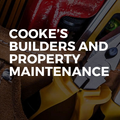 Cooke's builders and property maintenance