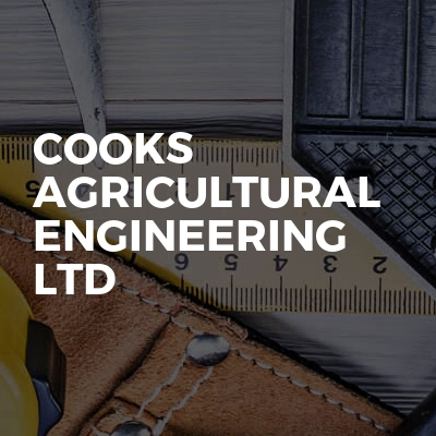 Cooks agricultural engineering ltd