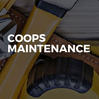 Coops Maintenance