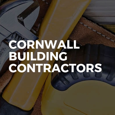 Cornwall Building Contractors