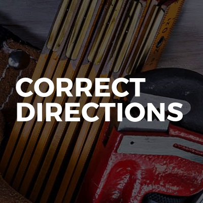 Correct Directions
