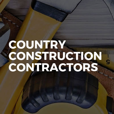 Country Construction contractors