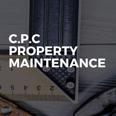 C.P.C Property Maintenance