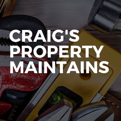 Craig's Property Maintains