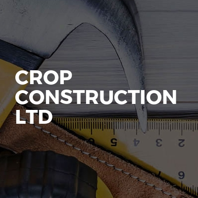 Crop Construction Ltd