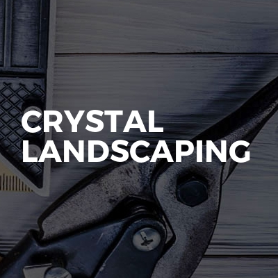Crystal landscaping