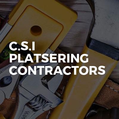 C.S.I Platsering Contractors